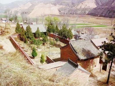 镇原县实施庆阳北石窟寺文化生态旅游区镇原片区规划建设纪实高清图片