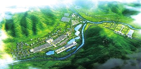 景区规划效果图图片