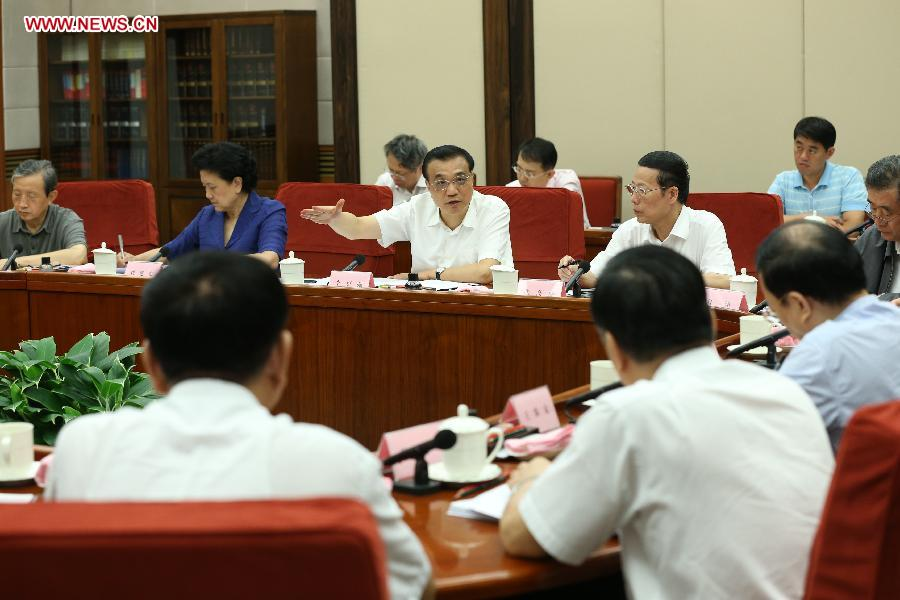 CHINA-BEIJING-LI KEQIANG-STATE COUNCIL-WORKSHOP (CN)