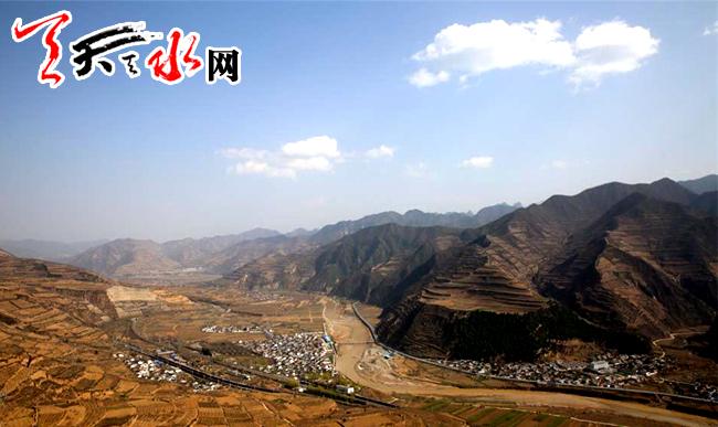 甘肃渭河源头风景区