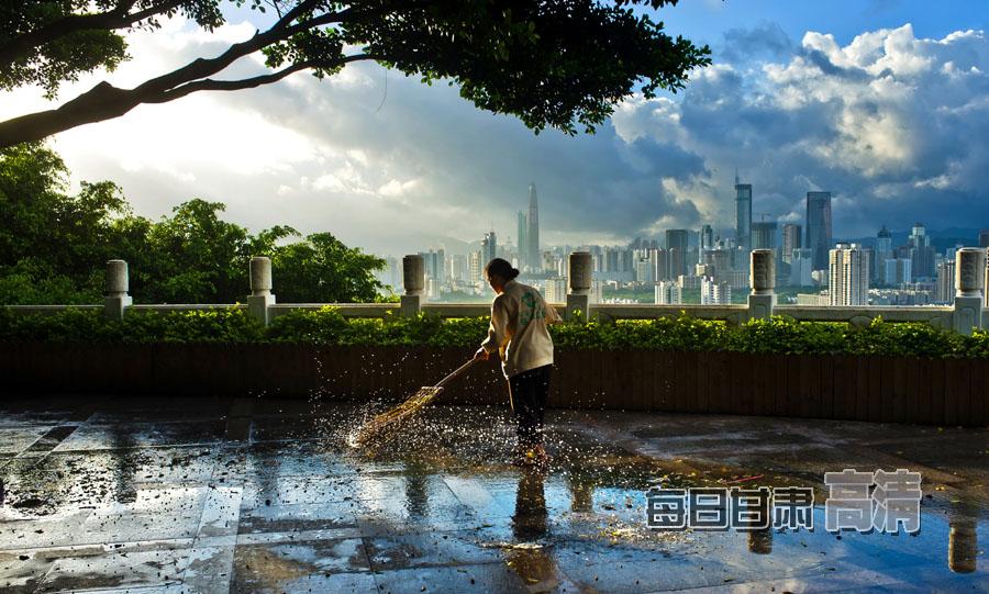城市清洁工