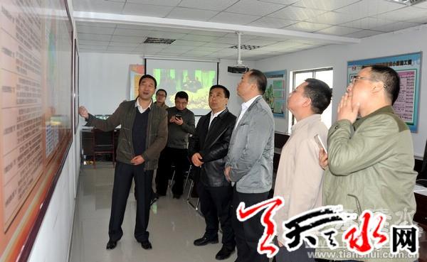 广西合山市考察团在清水考察精准扶贫工作