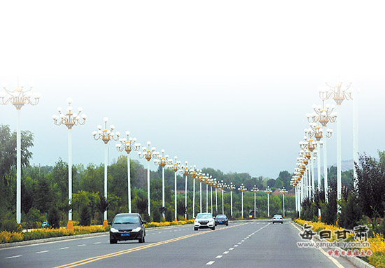 临夏县双城快速通道的建成为全州经济建设带来了活力.