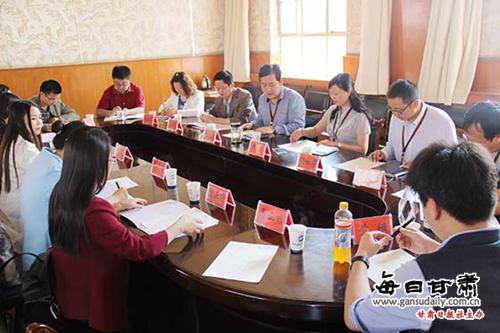 青海交通职业技术学院教师来甘肃