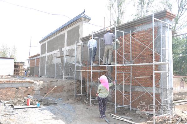 武威农商银行投资建设文化广场和乡村舞台【图片新闻】