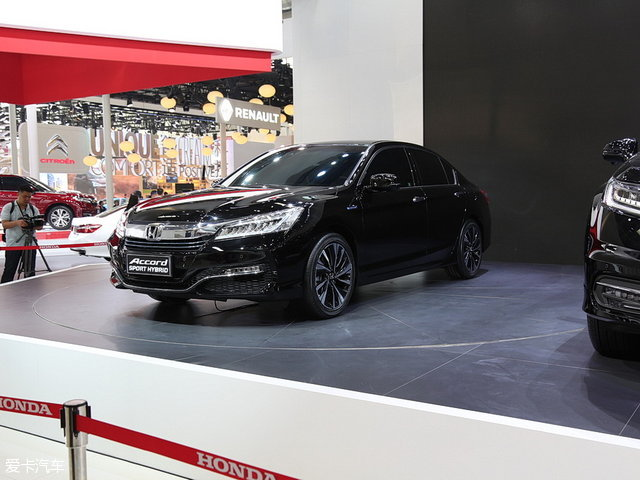 今年北京车展上广汽本田雅阁混动版发布-一混到底 雅阁锐混动最快将高清图片