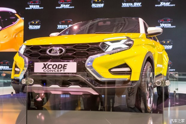 斗民族新座驾 拉达XCODE概念车首发高清图片