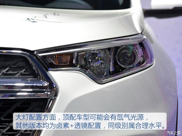 凑SUV市场 东风风度MX5实拍高清图片