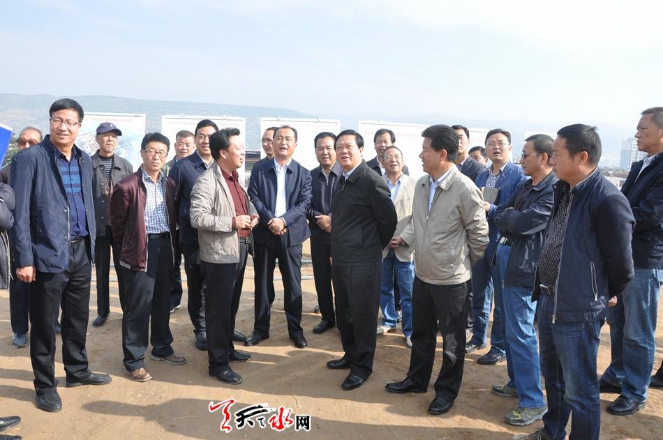 杨维俊督查调研天水重点交通项目建设