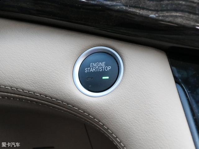 上汽通用别克gl8全系标配了一键启动功能.