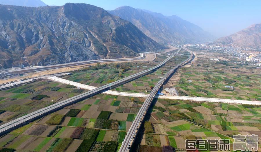 兰渝铁路岷县至广元段年内开通 陇南将圆铁路