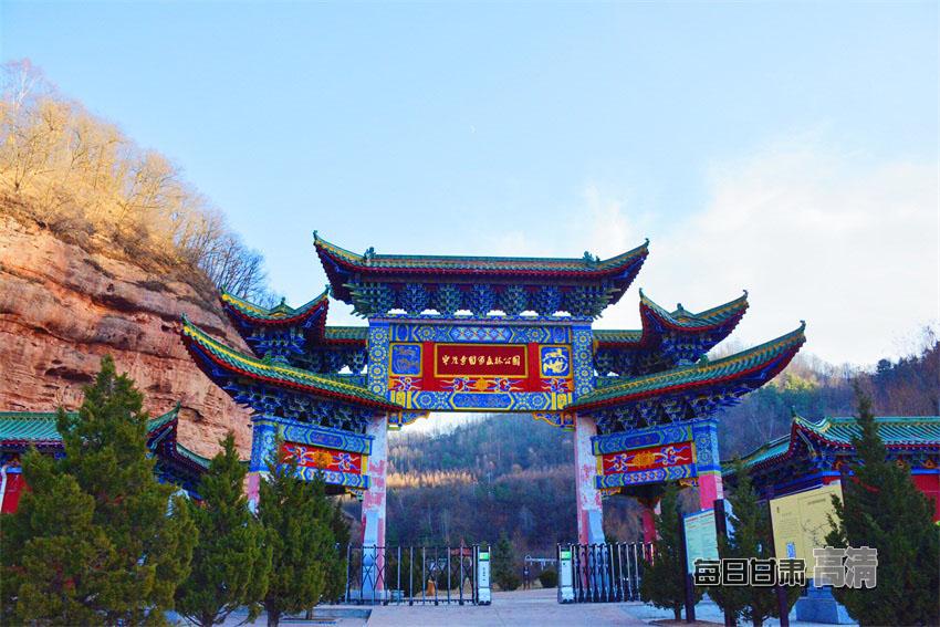 景区,国家森林公园的云崖寺,实地探访庄浪县在加大生态环境建设力度