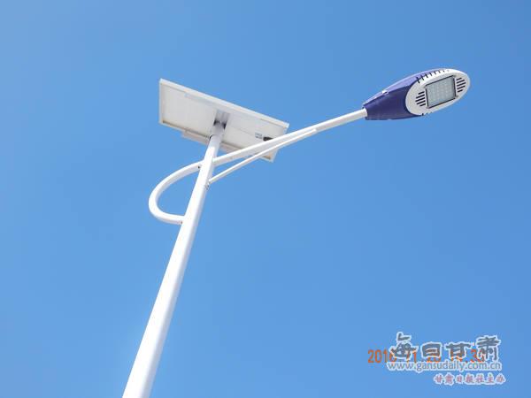 太阳能光伏板路灯