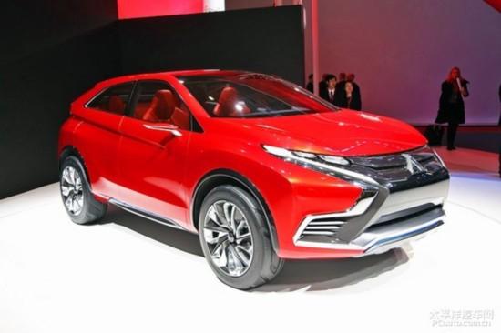 三菱XR-PHEVII概念车-三菱全新SUV预告图发布日内瓦车展亮相高清图片