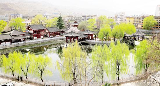 成县莲湖公园风景美如画-陇南日报-每日甘肃网