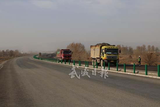 正在建设中的G569北仙高速公路武威段一瞥(图)
