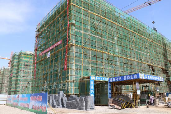 武威国际陆港凉州产业基地建设正酣(图)