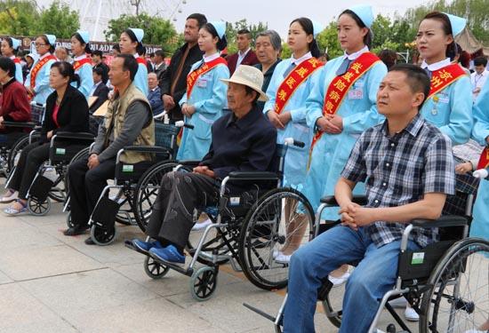 凉州举办第27个全国助残日活动