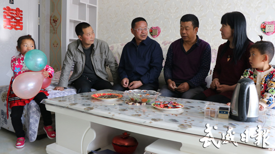高坝镇规划建设新型农村社区