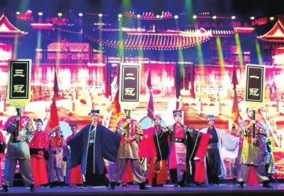 兰州: 国学礼仪文化进校园(图)