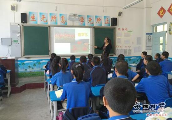 金塔县第四中学开展禁毒宣传月系列活动