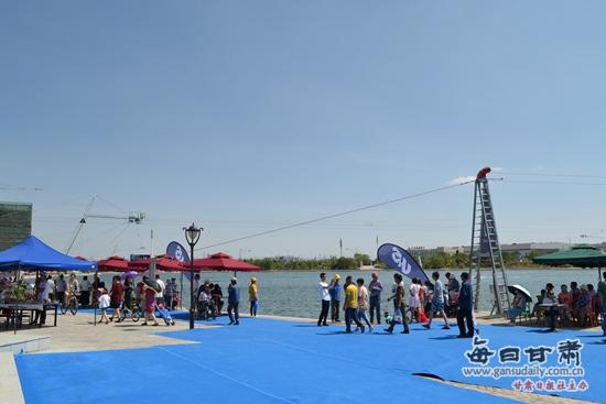 兰州新区水上漂滑水公园今日开业-尾波中国