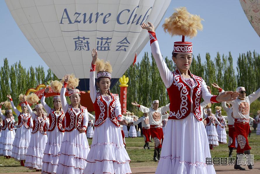 阿克塞县系列活动展现哈萨克族民族风情