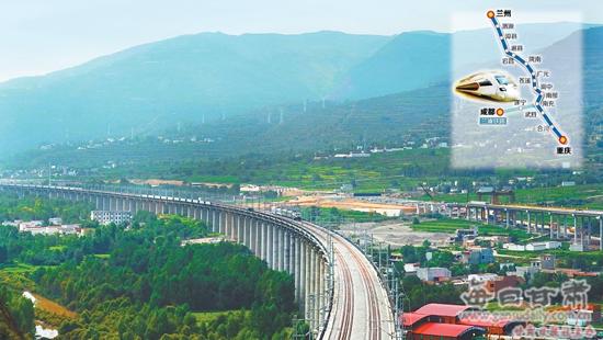 兰渝铁路夏官营至岷县段掠影