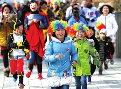 兰州:城市文明程度提高市民幸福感提升