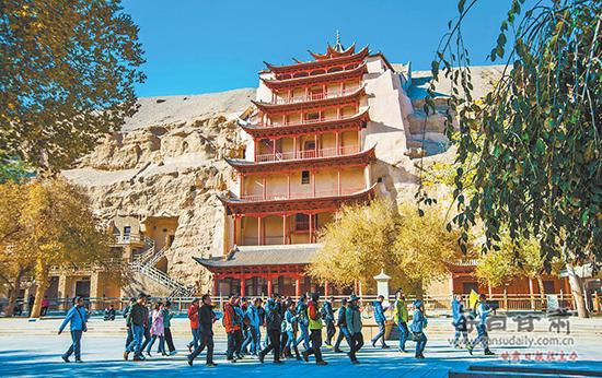 莫高窟旅游进入淡季 游客可半价参观