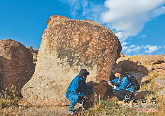 肃北发现3处古代岩画