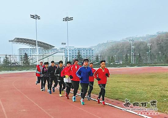 国家甘肃临洮体育训练基地见闻