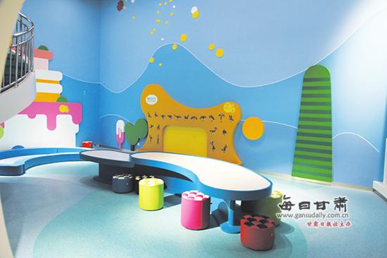 甘肃科技馆展厅提前逛——泡芙堡 低龄儿童的乐园