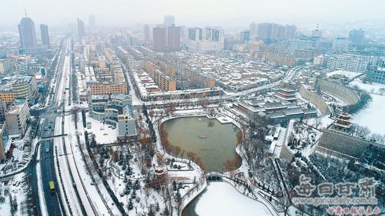 【图片新闻】平凉市加快城市基础设施建设