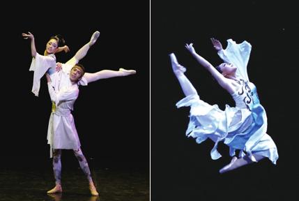 芭蕾版《大梦敦煌》北京展风采