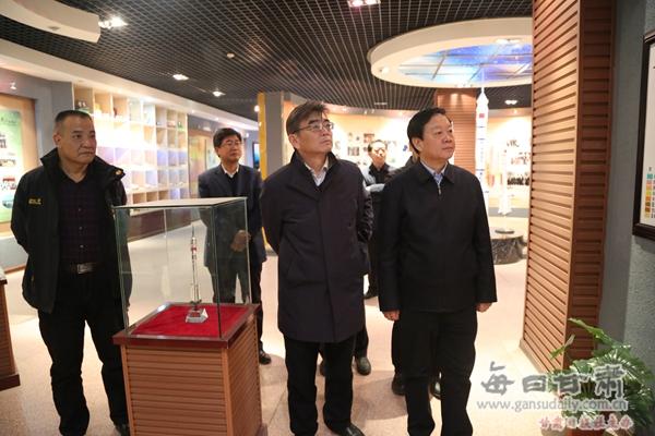 张掖市委书记杨维俊到河西学院检查指导工作