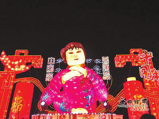 名嘴助阵 武威市凉州灯会亮起来