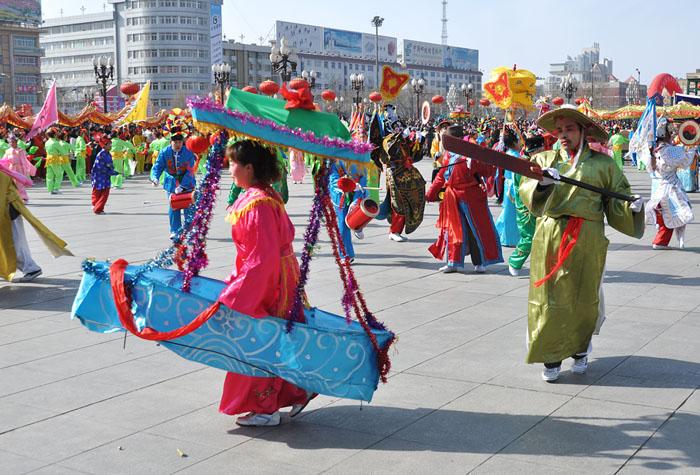 张掖春节文化活动丰富多彩