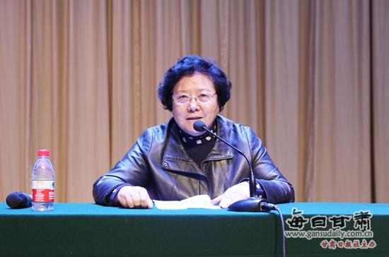 """陇桥学院举办庆祝""""三八""""妇女节女性健康知识讲座"""
