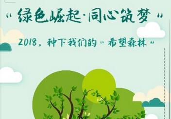 植树报名丨种下希望森林