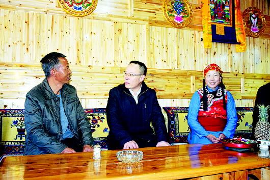 省委副书记孙伟在甘南州调研精准扶贫工作