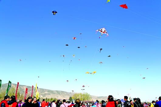 定西市举办首届千人风筝节
