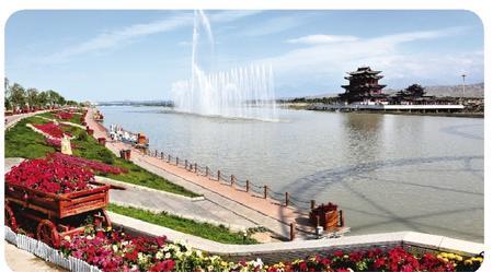 嘉峪关市全力打造生态宜居之城