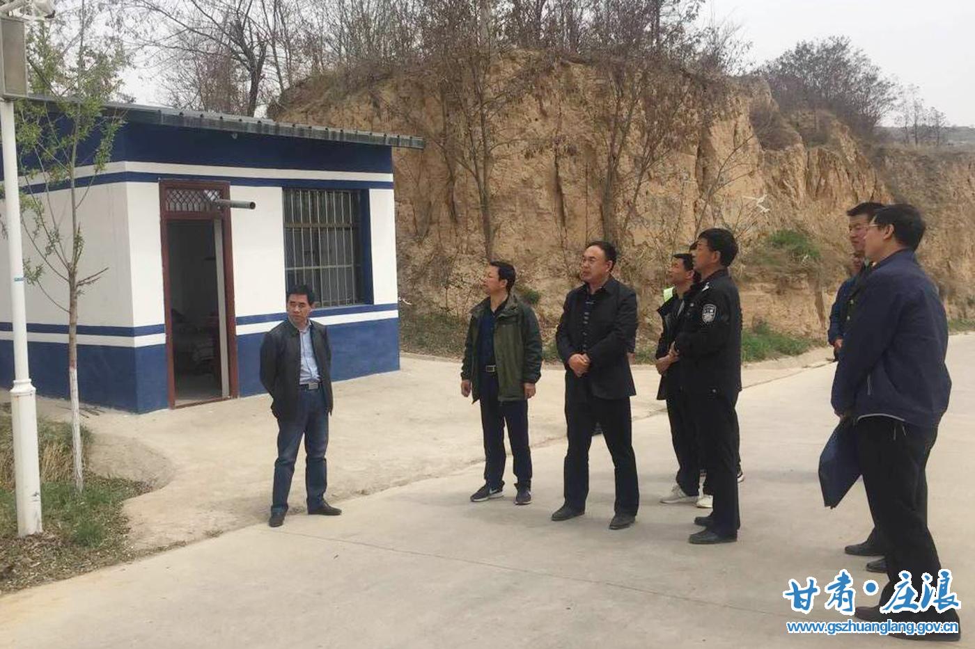 庄浪:县上领导带队督查全县安全生产工作