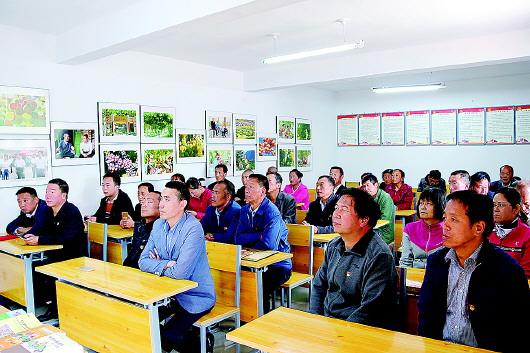 舟曲县新时代农民讲习所挂牌开讲