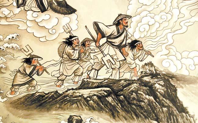 大禹治水 留在陇原大地的传说