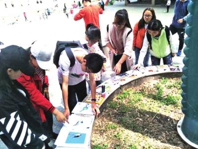 兰州大学生志愿者开展爱鸟周宣传活动