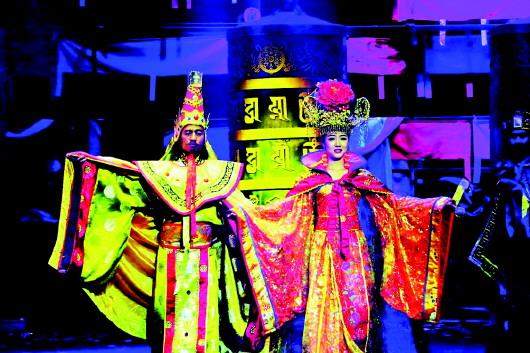 夏河举办藏族传统歌舞乐《金顶梵音——拉卜楞》宣传推介活动