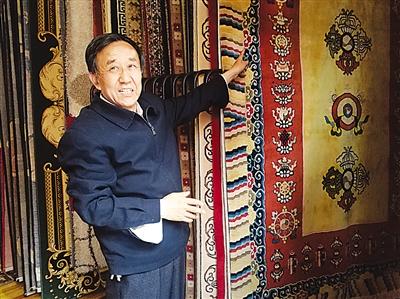 我奋斗我幸福·【陇原工匠】系列报道 坚守传统工艺手工织毯近50载