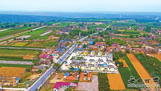 【图片新闻】宁县推进美丽家园建设 人居环境明显改善